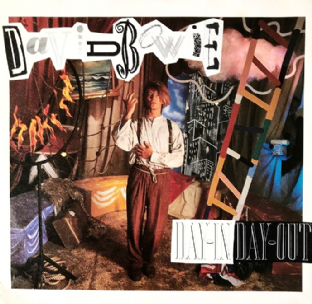 "David Bowie - Day-In Day-Out (7"") (VG+/VG)"